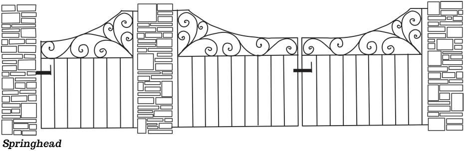 Gates, Staircases, Railings & metal fabrication